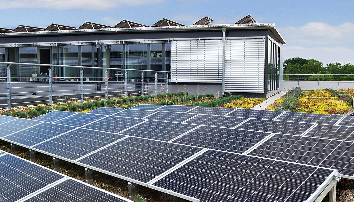 Optigrün Solar Green Roof