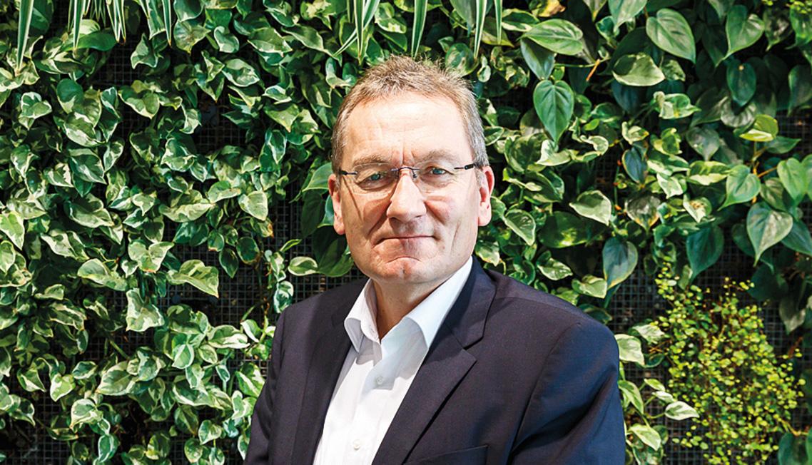 Uwe Harzmann, Managing Director Optigrün International AG