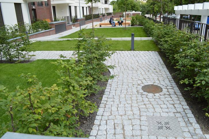 Flow Control Intensive Green Roof Solutions By Optigreen