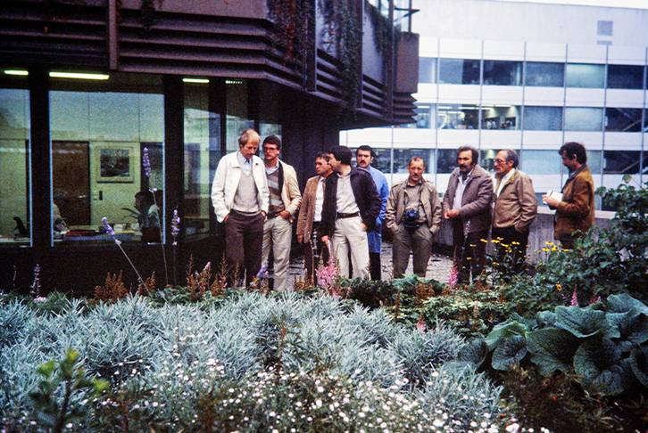 Excursion with planners, 1977