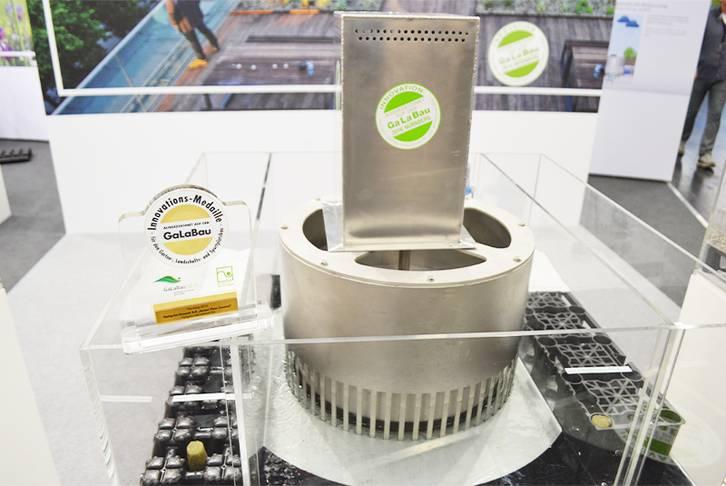 Innovation award for OPTIGRÜN Smart Flow Control, Nuremberg 2016