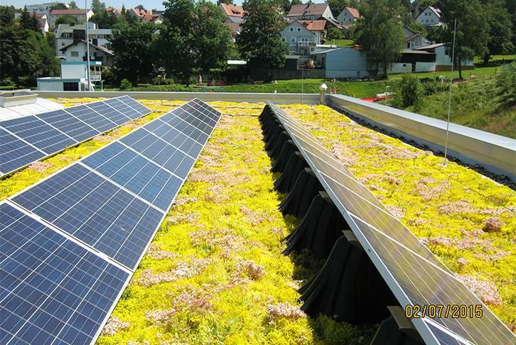 Solar mounting frame Sunroot 30, 2010